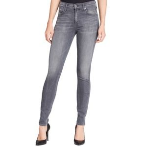 COH The Rocket High Rise Skinny Jeans Grey Size 24